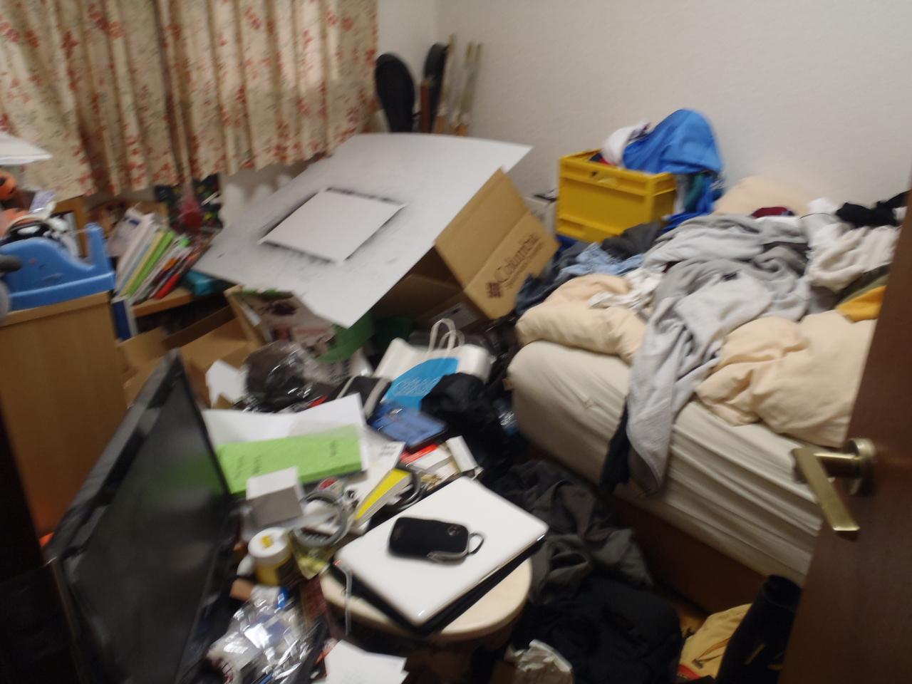 汚かった頃の部屋